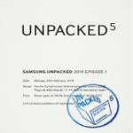 Samsung Galaxy S5 – Vorstellung am 24. Februar 2014