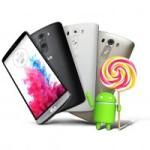 Rollout für das LG G3 auf Android 5.0 Lollipop beginnt in Deutschland