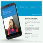 Android 5.1 Lollipop veröffentlicht