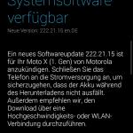 Moto X 1. Gen – Android 5.1.1 Lollipop Update in Deutschland verfügbar